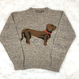 Vintage Picket & Smith Wool Blend Knit Sweater
